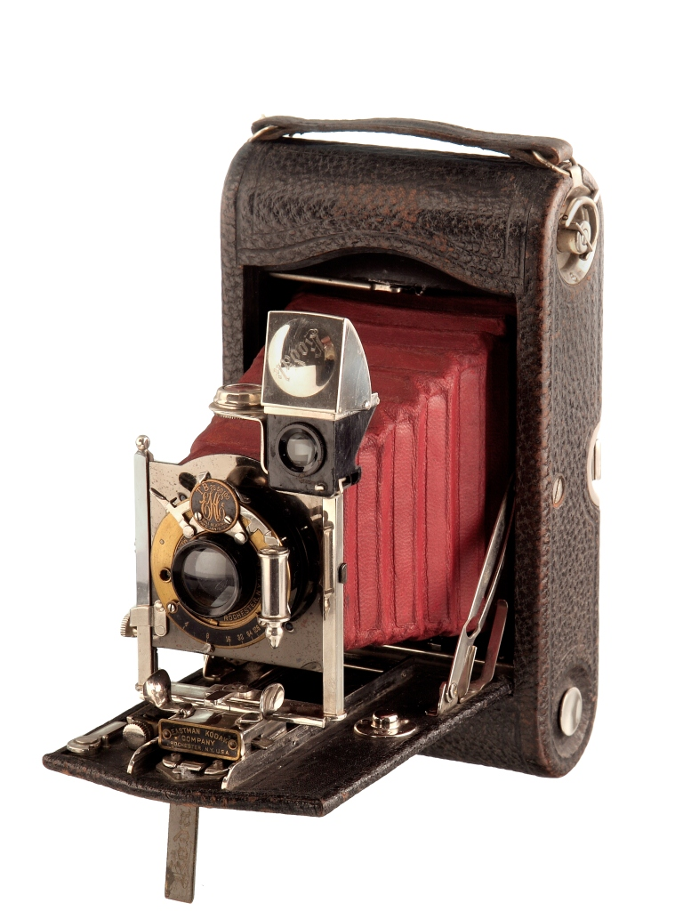 "KOD 2899A - KODAK Folding Pocket No3 Mod. G. (1911-1914) rollfilm 3.1/4""x4.1/4""; Rapid Rectilinear; Automatic"