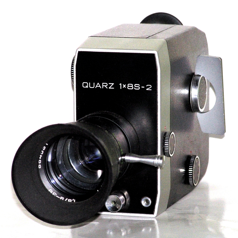 QUARZ 1x8S-2 (latin) (1974-1993) Super 8 mm; Meteor-8M-1 1.8_9-38 mm