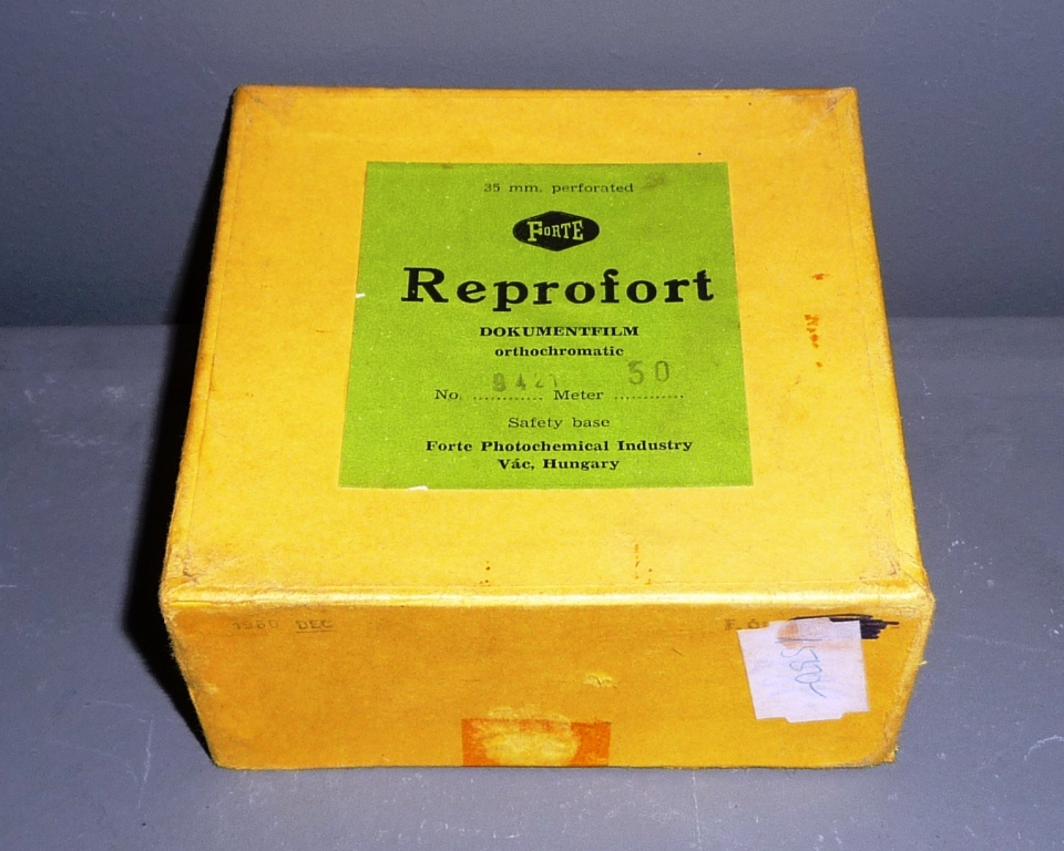 FORTE Reprofort orthochromatic (35 mm x 50 m)