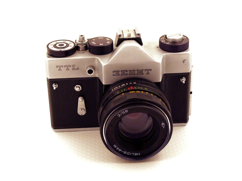 Zenit TTL chrom cyrill (1977-1985)